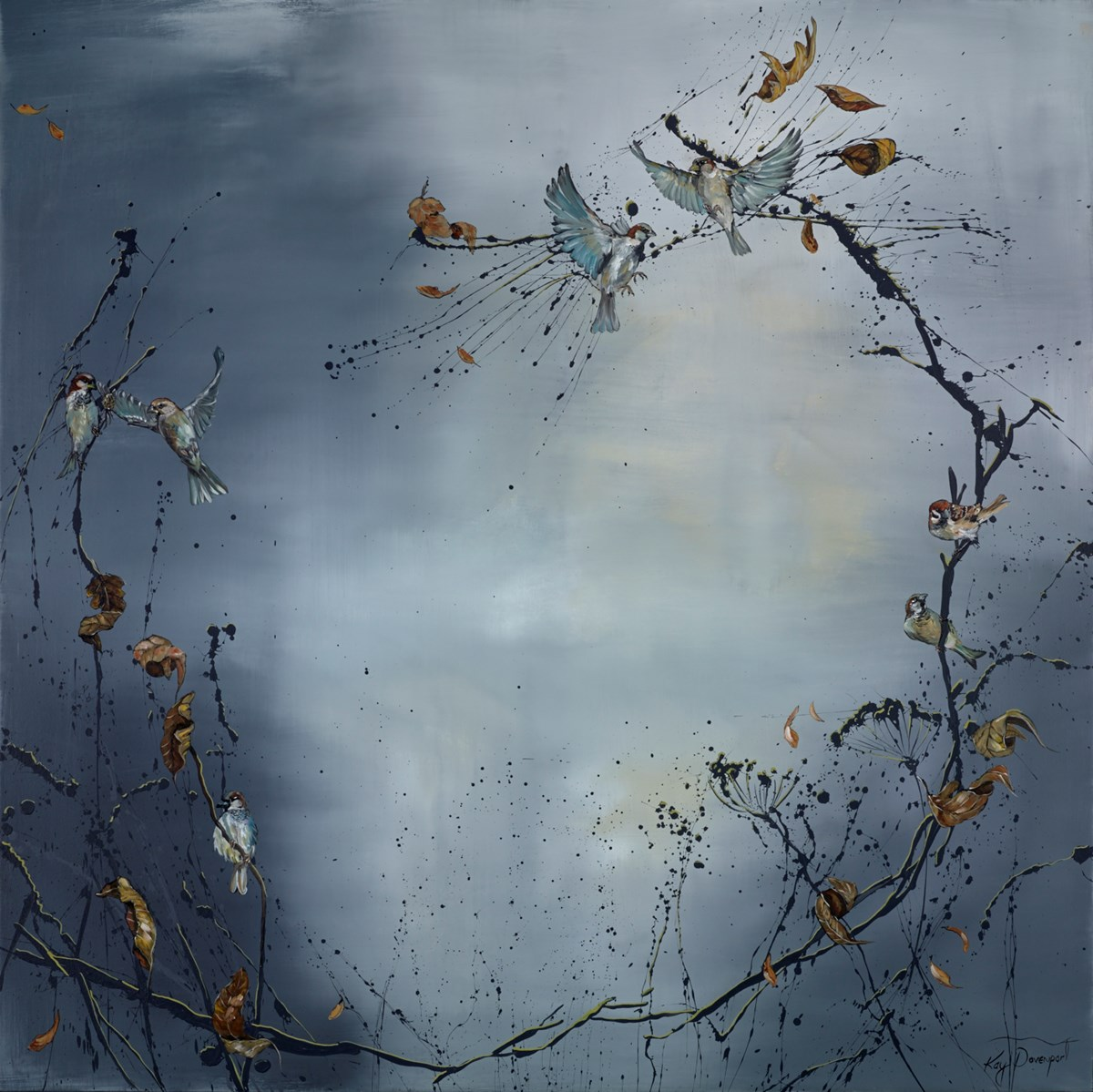 Morning Song by kay davenport -  sized 48x48 inches. Available from Whitewall Galleries